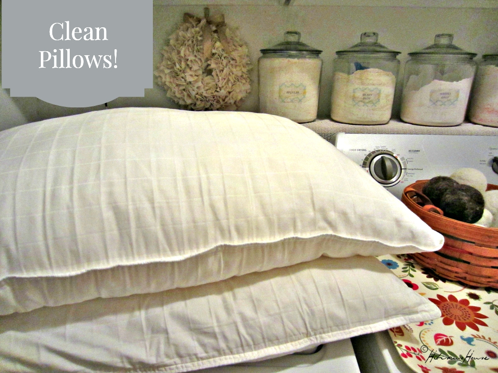 how to clean pillows without washing