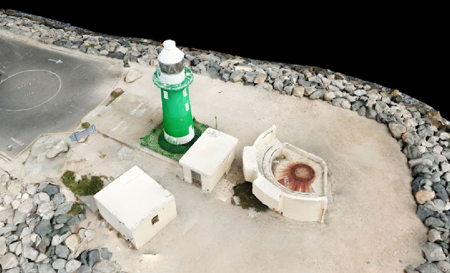 South Mole Lighthouse Fremantle Drone Scan using Drone Deploy - Image 3