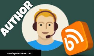 Cara Pasang Pita Author Pada Kotak Komentar Blog