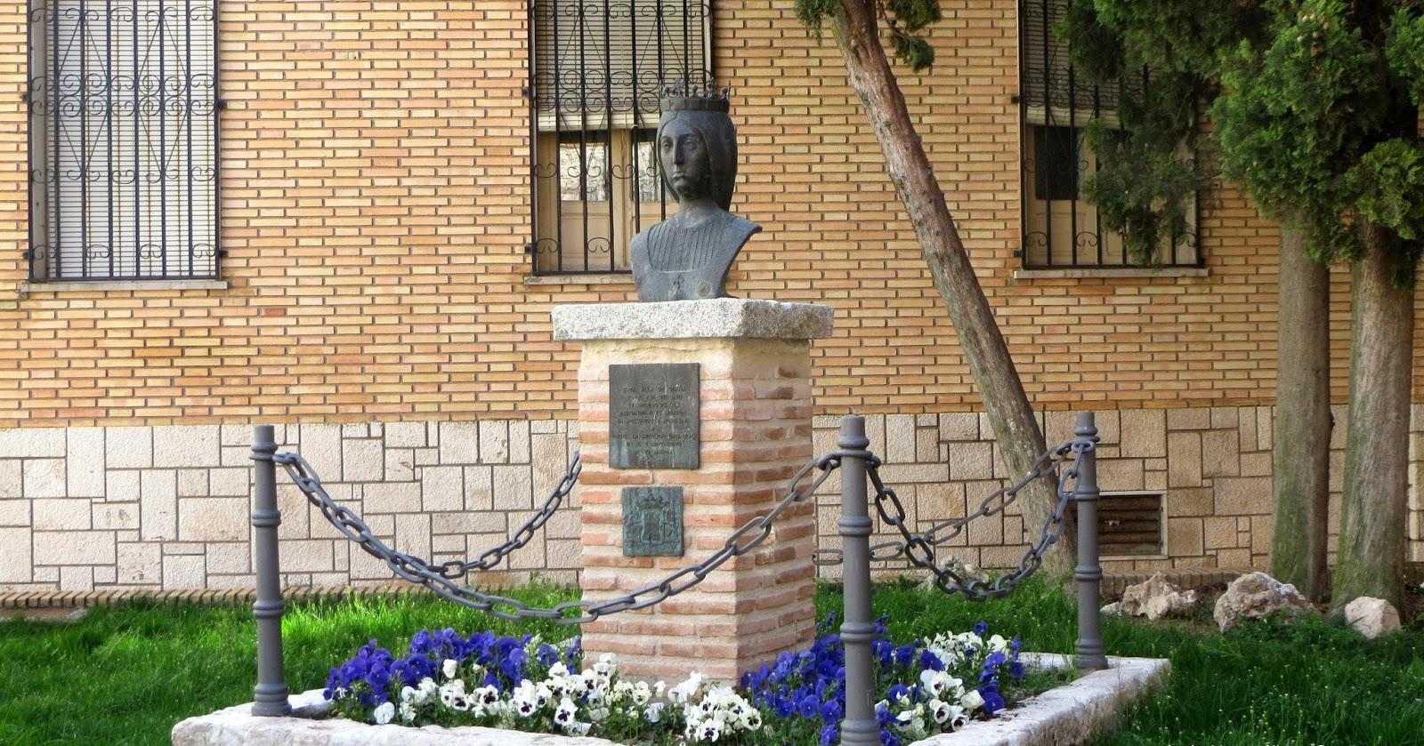 Ruta de Isabel - Ocaña - Busto de Isabel