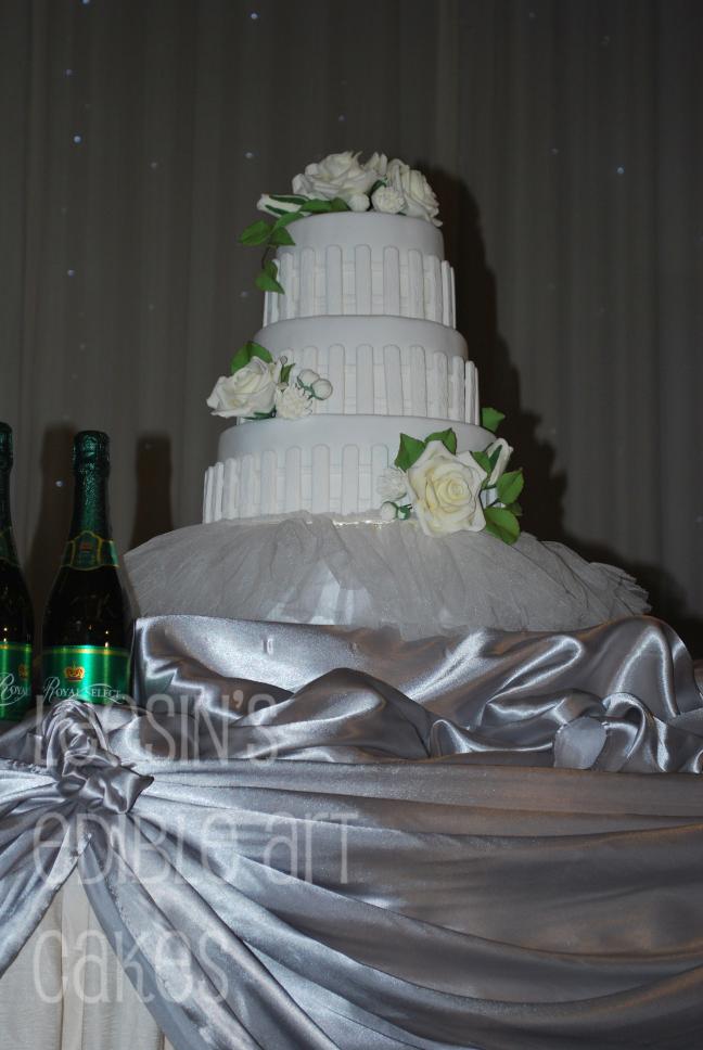 Penang Wedding Cakes By Leesin Rose Garden Wedding Cake