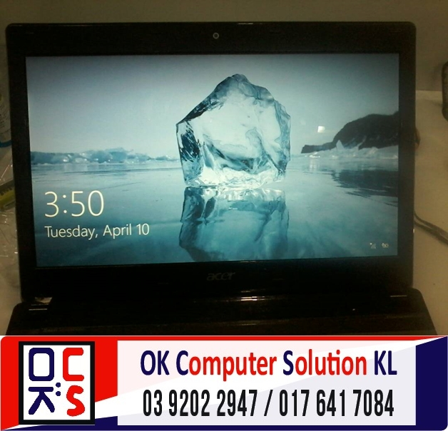 [SOLVED] SKRIN ACER ASPIRE 4750 CRACK | REPAIR LAPTOP CHERAS 7