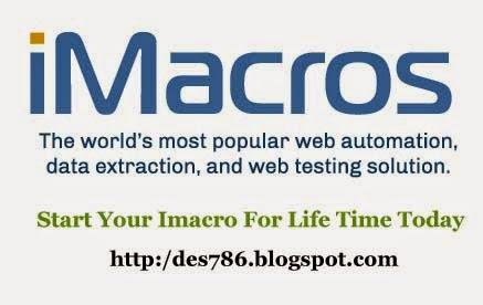 iMacros 9 0 Full version rar Download ~ DESoftware786