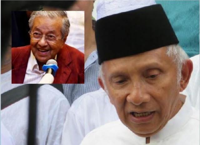 Komentar Menohok Hanura Untuk Amien Rais yang Ngebet Jadi Capres, Banding-bandingin Diri Mirip Mahathir Mohammad