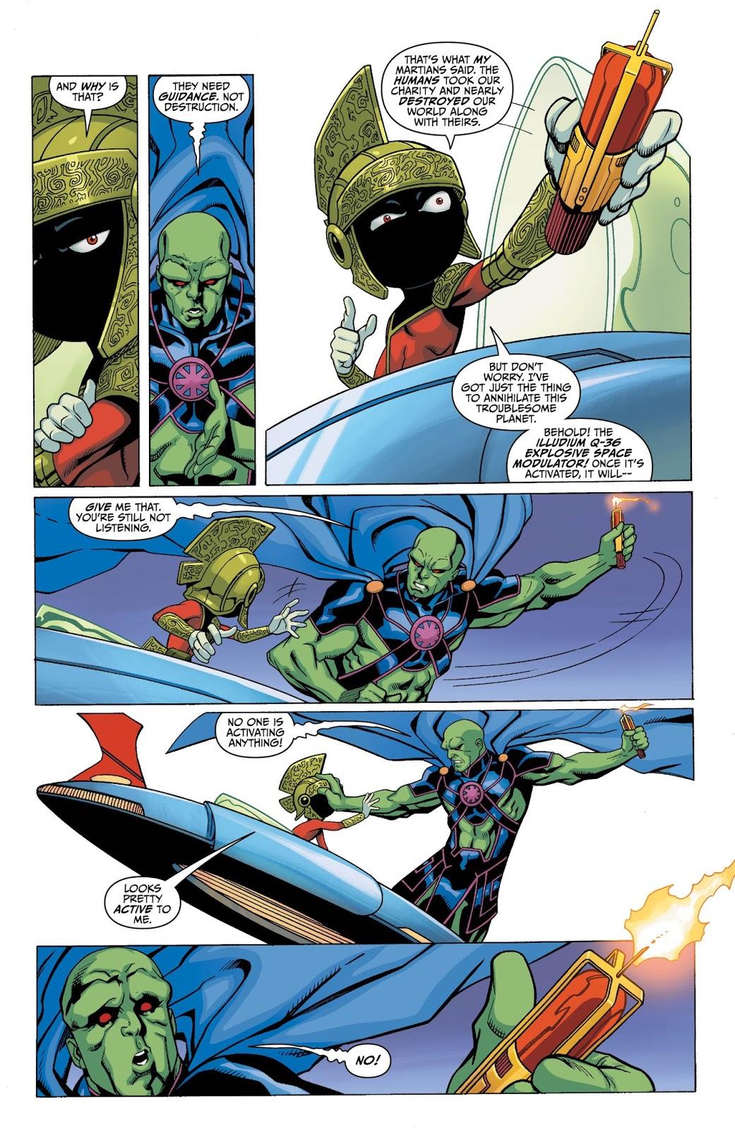 weird science dc comics martian manhunter marvin the martian