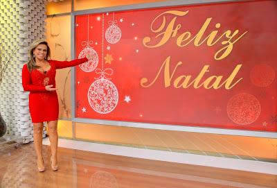 Christina no cenário do Casos especial - Foto Lourival Ribeiro/SBT