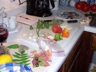 Shrimp thang ingredients