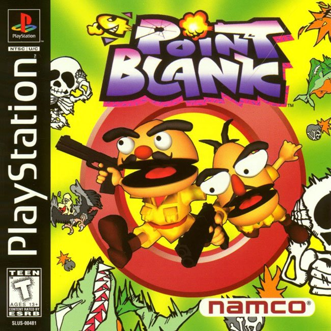 Point Blank - PS1 - ISOs Download