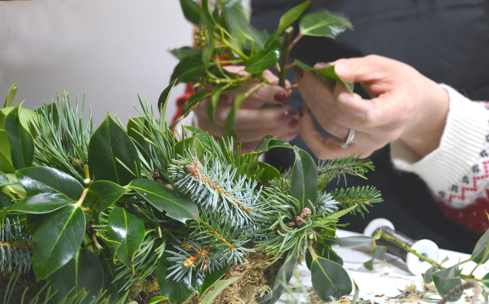 Christmas Wreath Making Workshop - Stack Newcastle