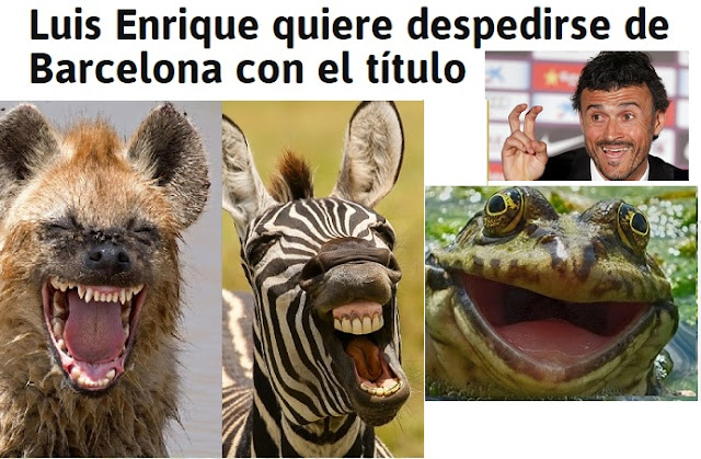 Luis Enrique quiere despedirse del Barcelona con el título de Liga