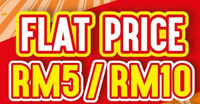 AEON BiG Flat Price Promo 2016