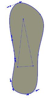 silueta con spline en solidworks