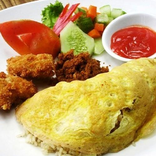 Nasi Goreng Katsu by Smescoffee