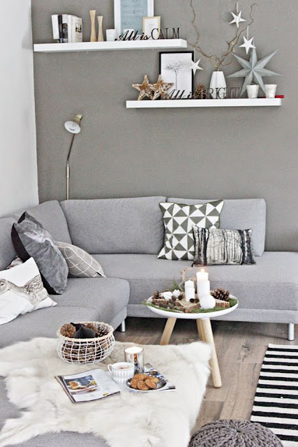 Decoración en Gris