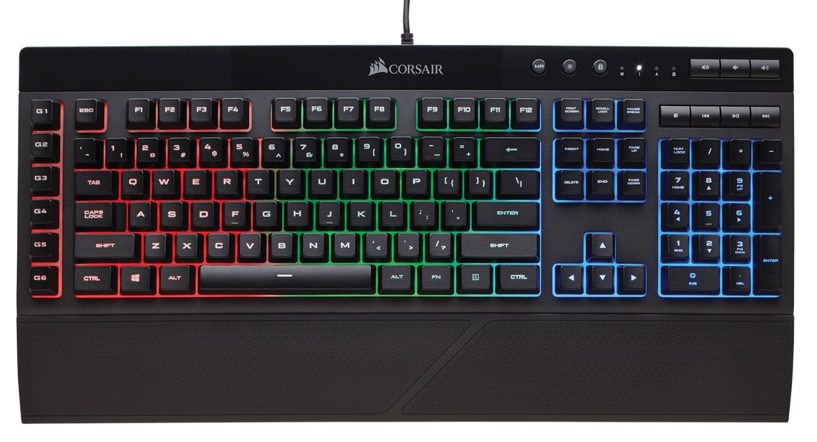 Corsair launched the K55 RGB Gaming Keyboard in India