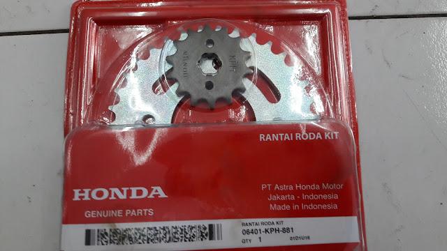 Cara mengganti gear set Honda Supra X 125 tanpa bantuan bengkel