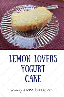 Lemon Lovers Yogurt Cake
