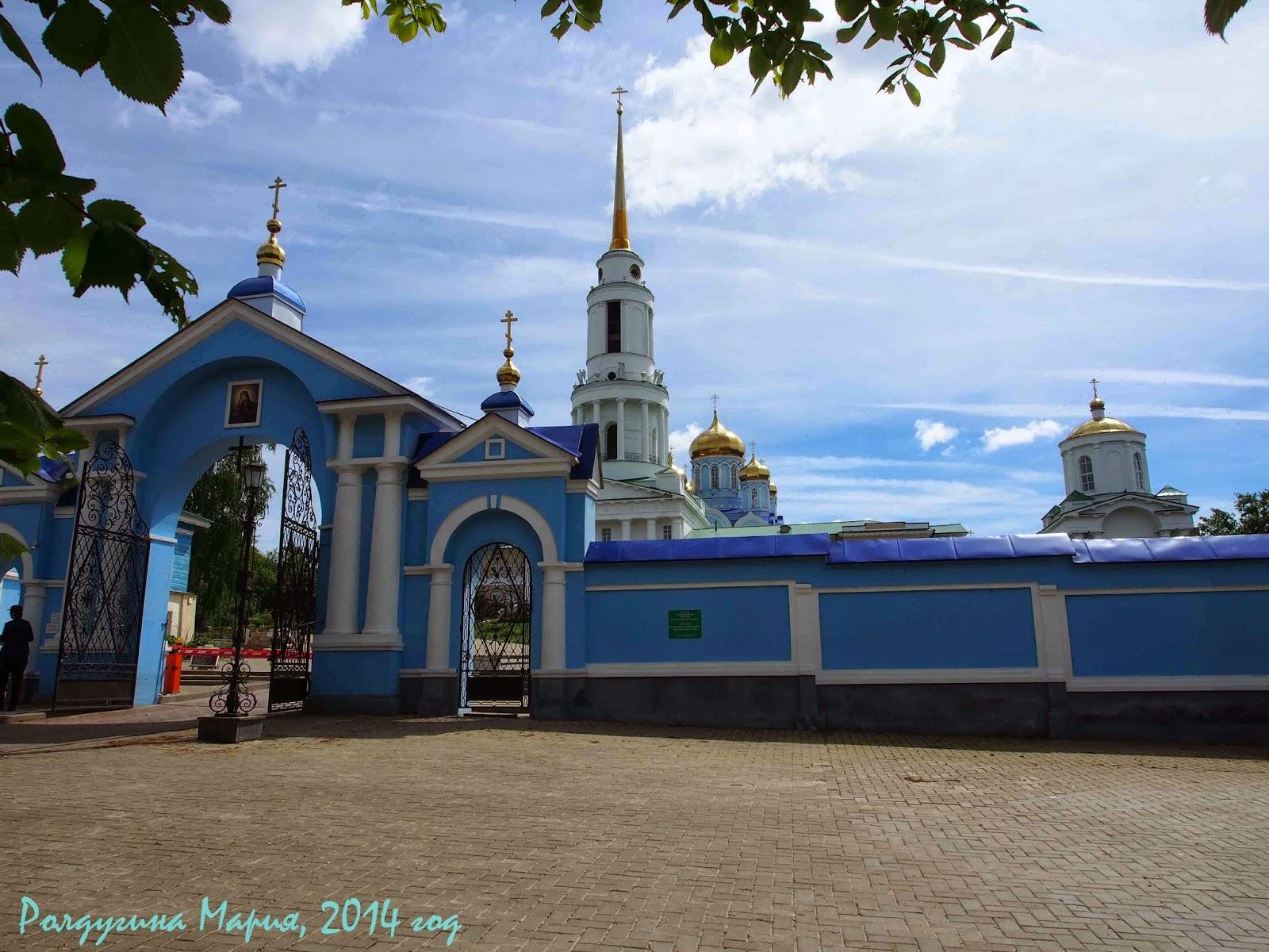 Задонск монастырь