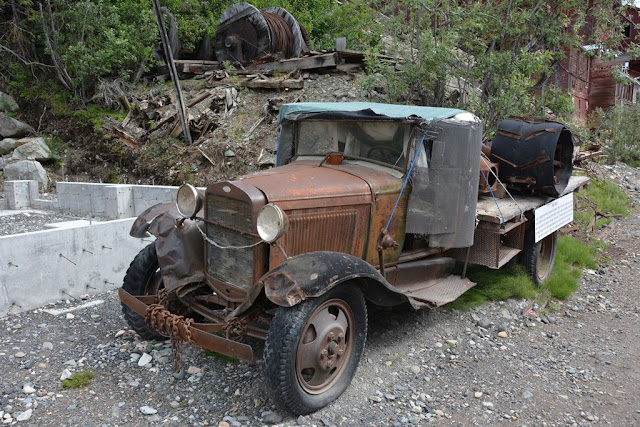 Kennecott Mill Kennicott vintage car