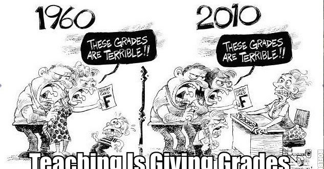 MzTeachuh: Teaching Is Giving Grades