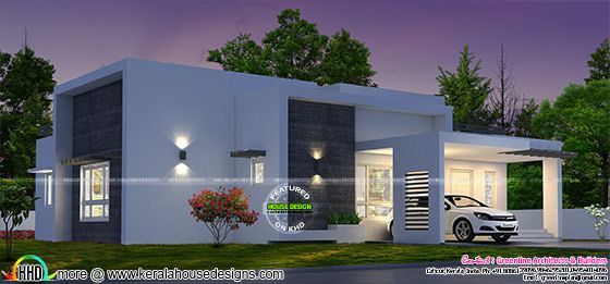 3 bedroom box model house architecture