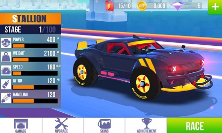 SUP Multiplayer Racing MOD APK Unlimited Money