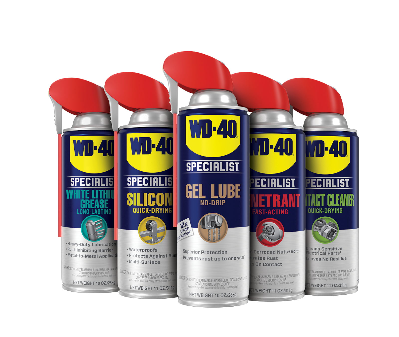 Wd 40 Specialist Line Lands Smoothly On Packaging Of The World Creative Package Design Gallery