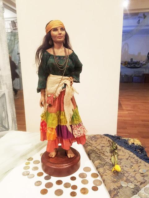 """пять историй старого дома, выставка авторской куклы, Татьяна Малушкина """"Позолоти ручку"""""""