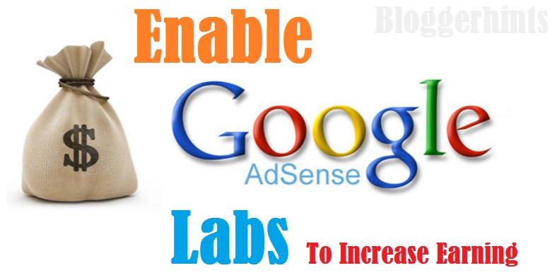 Google Adsense Labs