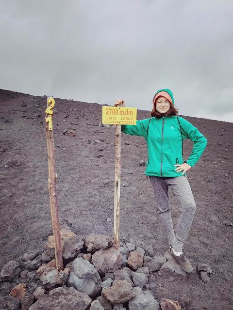Etna - 2700 m n.p.m.