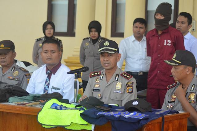 Polres Abdya Ciduk Residivis Curanmor Tiga Kabupaten, Dua Orang Dinyatakan DPO