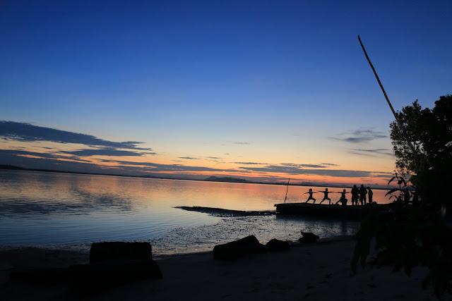 matahari terbit di belitung