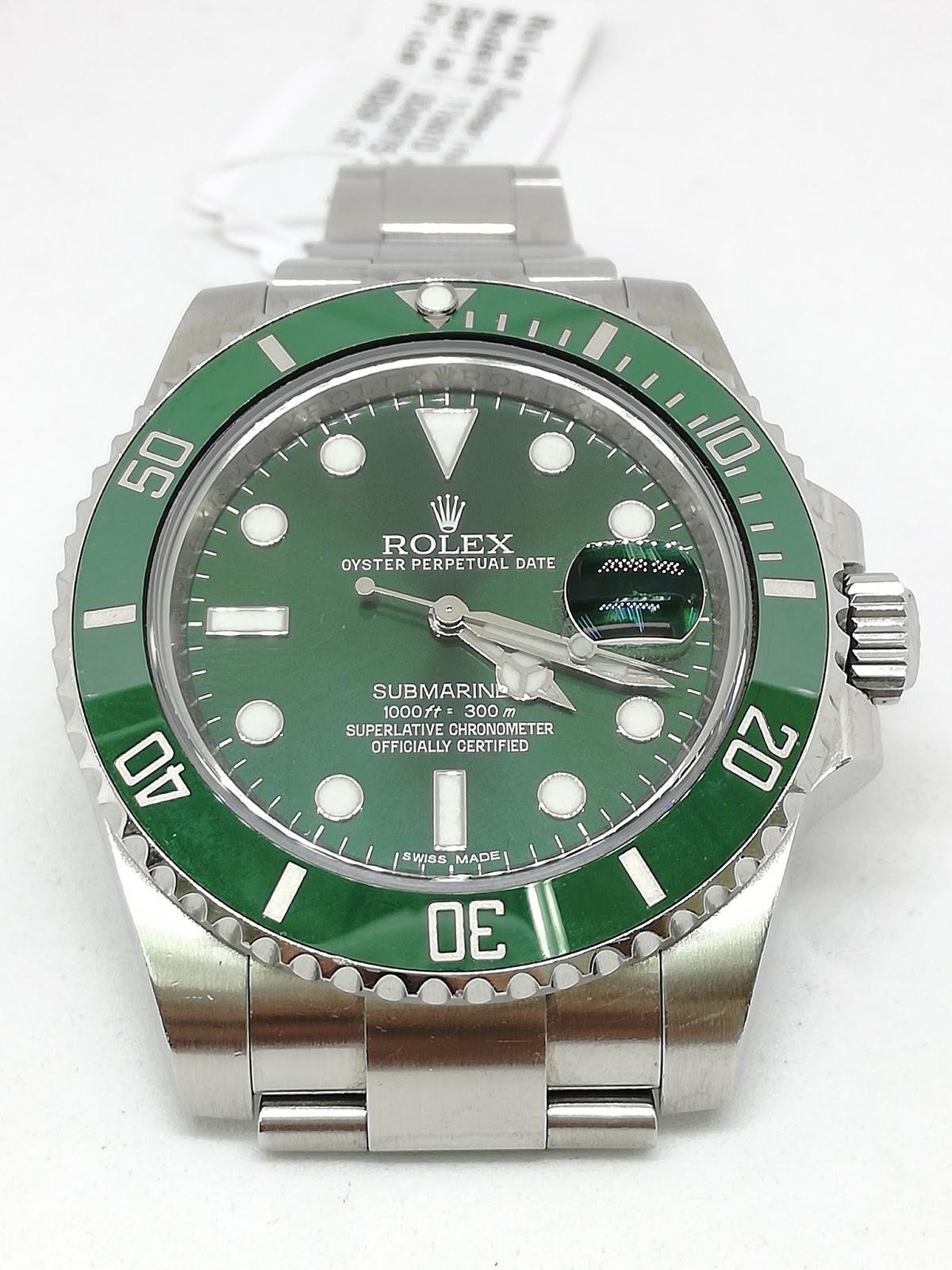 bf3cd4bf233 Hong Kong Watch Fever 香港勞友  Rolex Submariner ref 116610LV