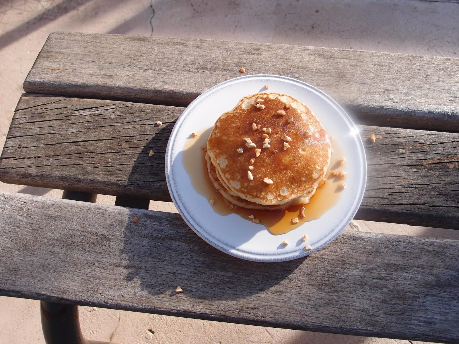 la recette des pancakes sans oeufs
