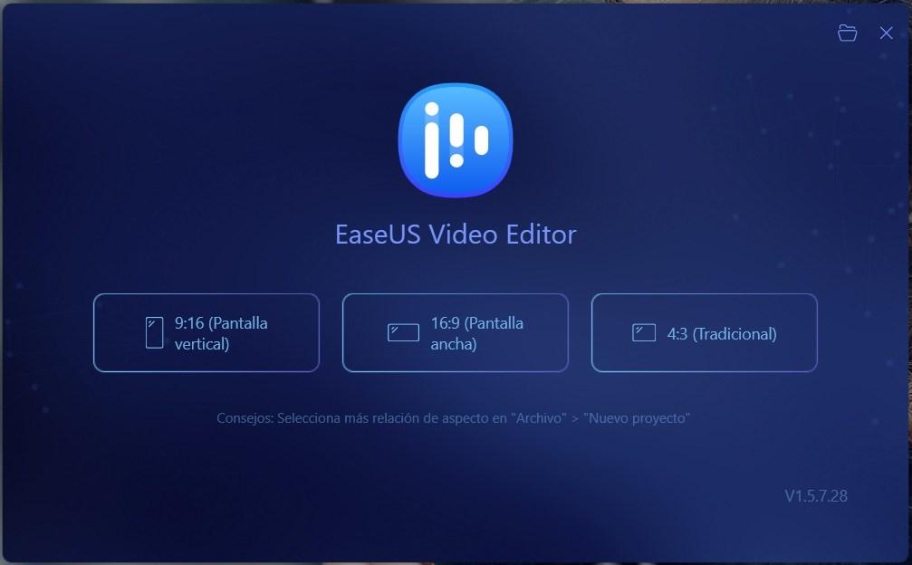 EaseUS Video Editor Full v1.5.7.28, Programa Editor Video