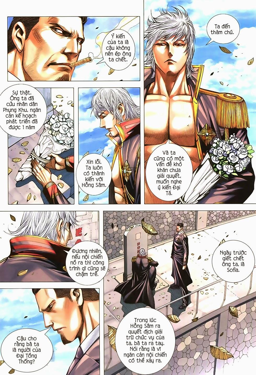 Đại Quân Phiệt chap 21 trang 20