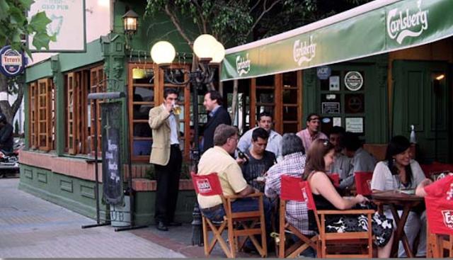 Bar Flannery's Irish Geo Pub em Santiago no Chile