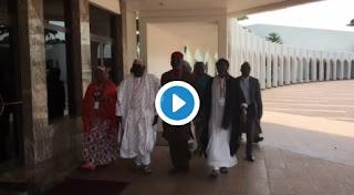 PDP Leaders Meet Buhari In Aso Rock