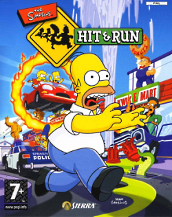 تحميل لعبة simpsons hit and run