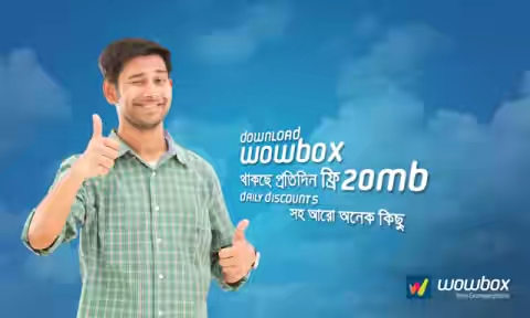 Grameenphone wowbox 20MB free data