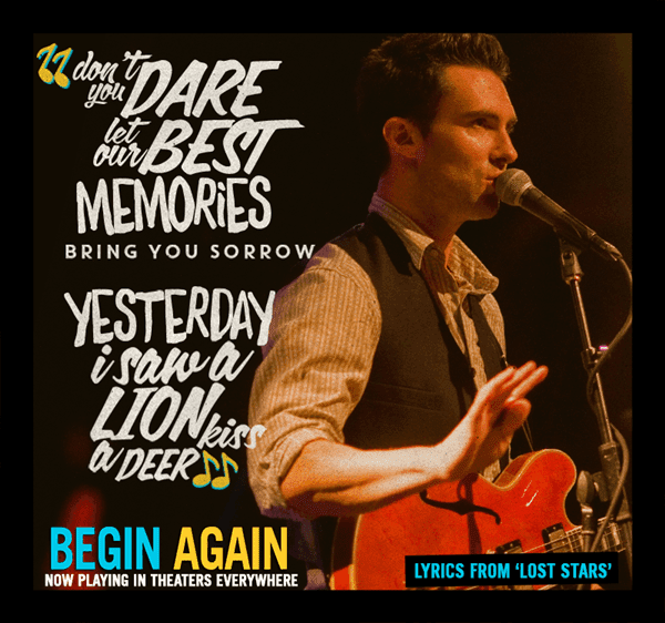 begin again soundtracks-adam levine-lost stars