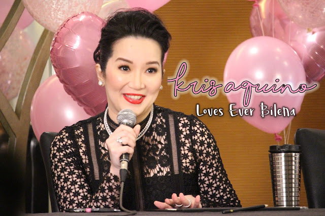 Kris Aquino loves Ever Bilena