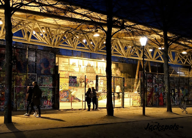 Skatepark Bercy éclairé
