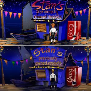 Comparación Monkey Island original - Edición especial