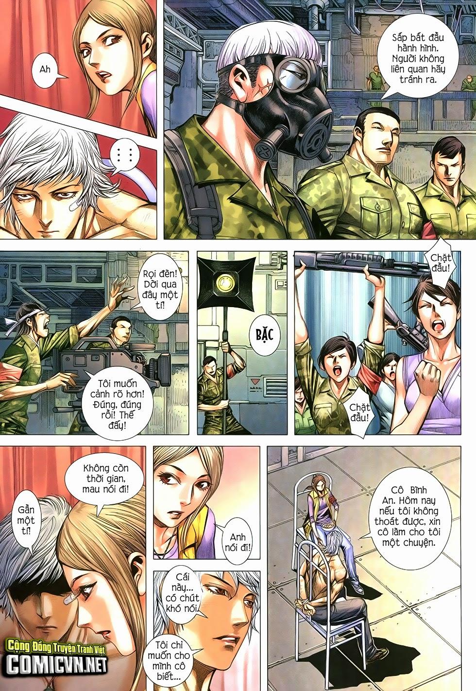 Đại Quân Phiệt chap 12 trang 3