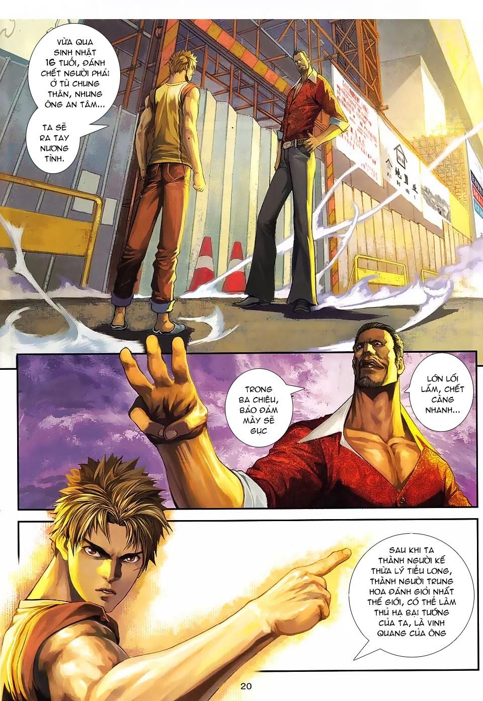 Quyền Đạo chapter 1 trang 19