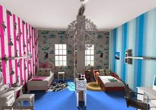 decoración dormitorio compartido