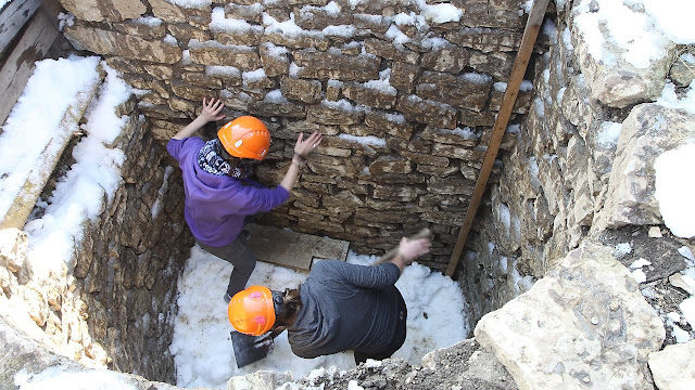 Shafts discovered at Switzerland's Augusta Raurica site may have been used for cold storage