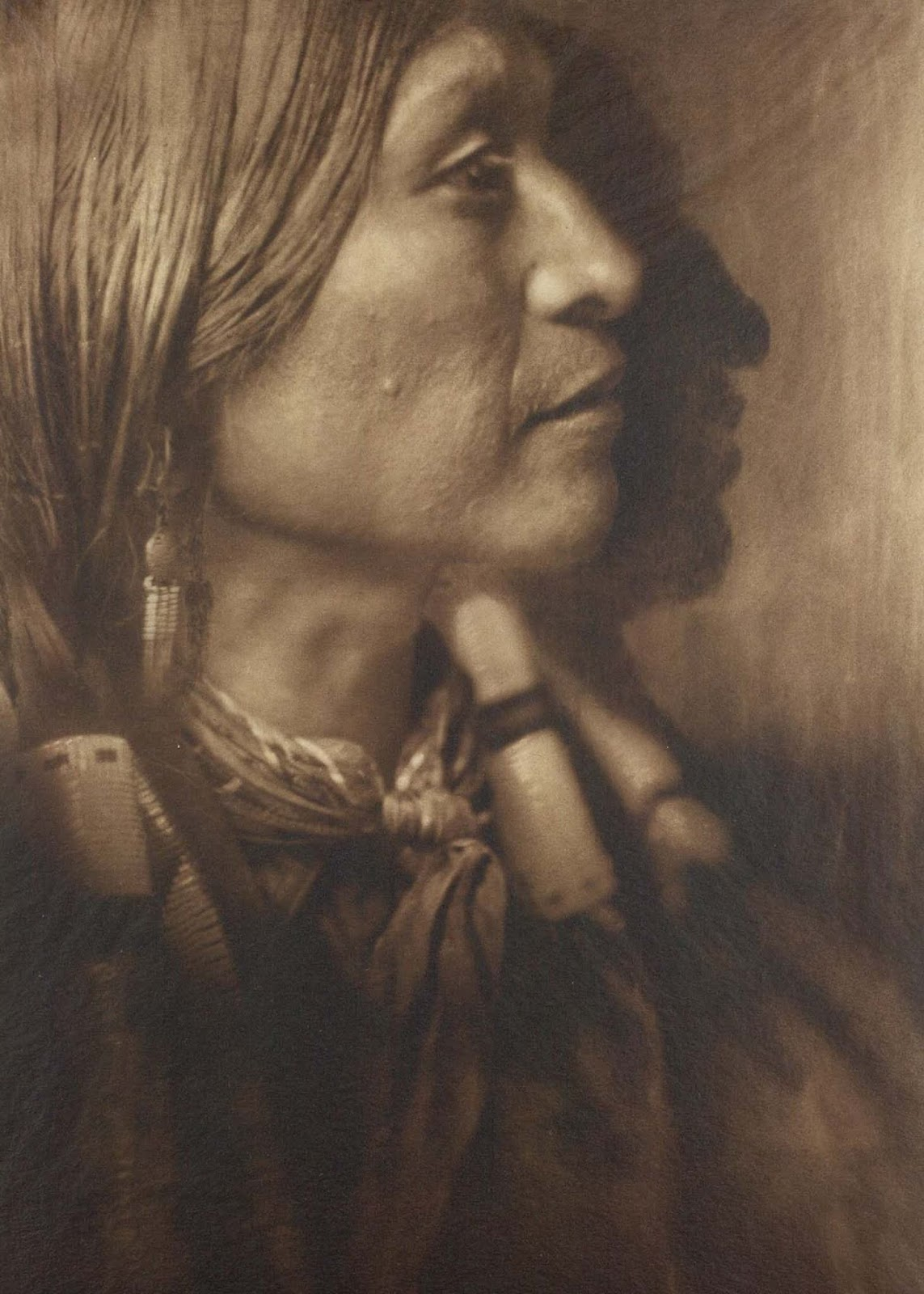 Vash Gon, a Jicarrilla man. 1910.