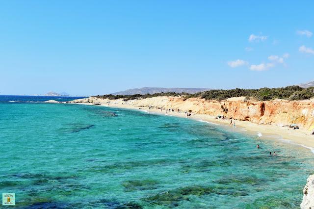 Alyko Beach en Naxos